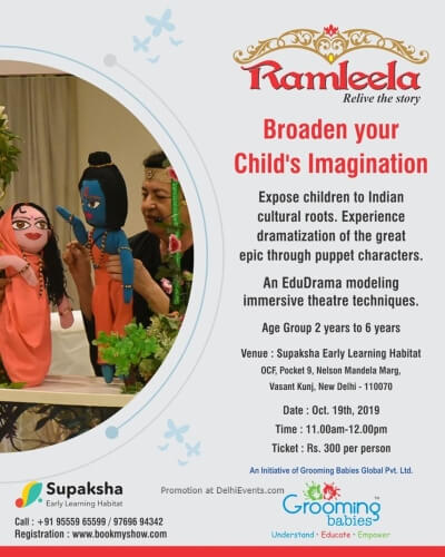 Ramleela Relive Story Play Supaksha Early Learning Habitat Vasant Kunj Creative