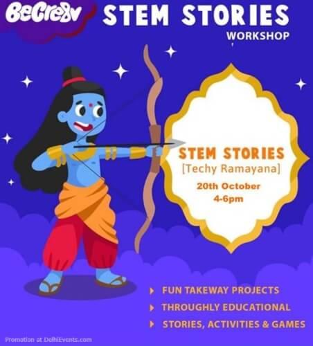 Techy Ramayana Stem Stories Beehive Gurugram Creative