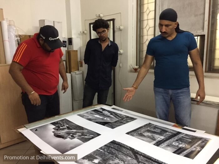7th Annual Exhibition Raghu Rai Center Photography Print Check