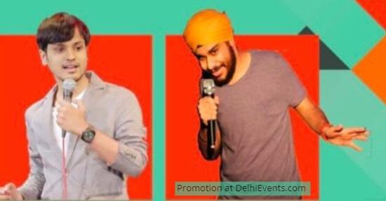 Comedians Piyush Sharma Jasmeet Singh Bhatia