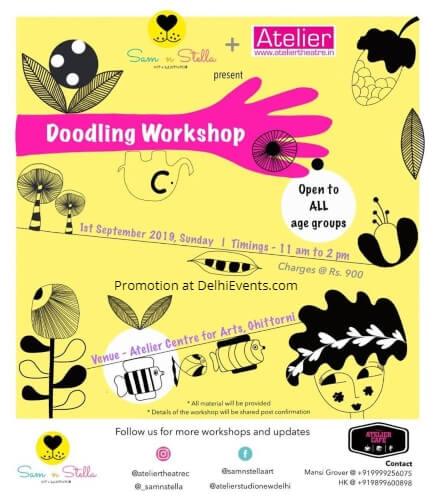 Creative Doodling Workshop Atelier Centre Arts