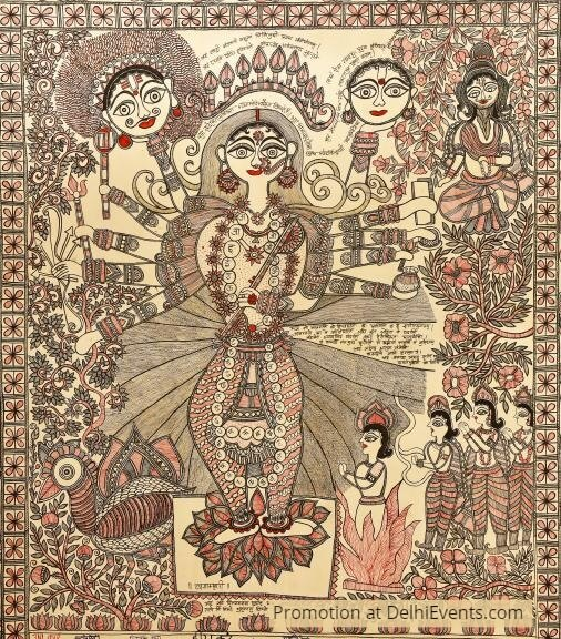 Mithila Painting IGNCA Archive