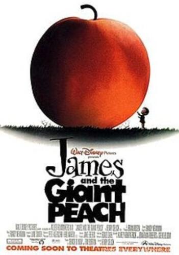James Giant Peach Film Poster