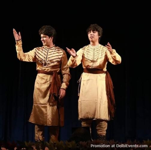 Kathak Dancers Vasu Vaibhav Krishna Maharaj
