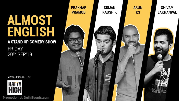 Almost Standup Comic acts Happy High Shahpur Jat Creative