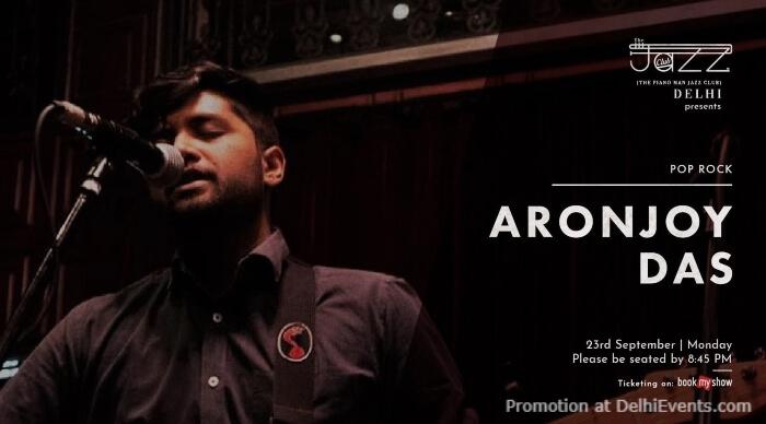Aronjoy Das Piano Man Jazz Club Safdarjung Enclave Creative