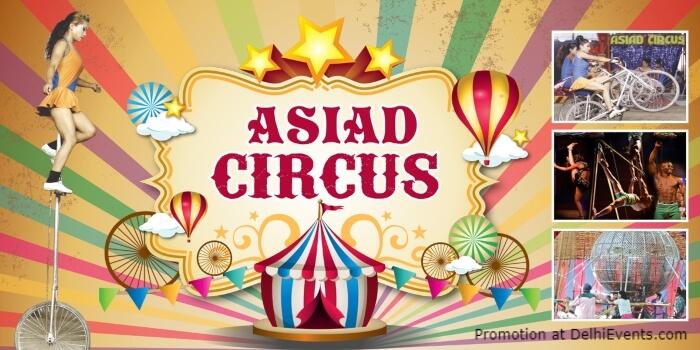Asiad Circus DDGround Rohini Creative