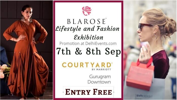 Blarose Lifestyle Fashion Exhibition Edition 15 Courtyard Gurugram Downtown Marriott Creative