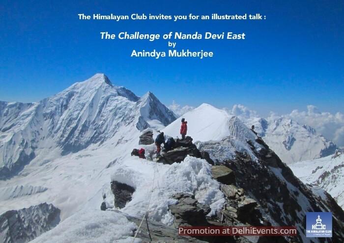 Challenge Nanda Devi East Mountaineer Anindya Mukherjee Creative