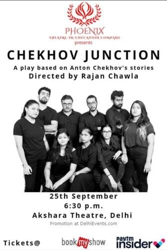 Chekhov Junction Play Akshara Theatre Baba Kharak Singh Marg Creative