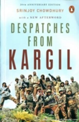 Despatches Kargil Srinjoy Chowdhury Book Cover