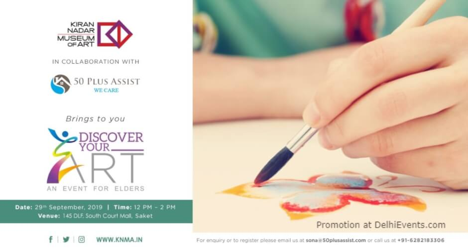 Discover Your Event Elders Kiran Nadar Museum Art Saket Creative