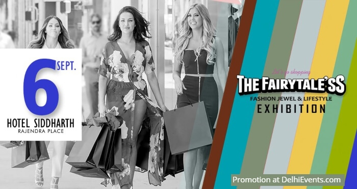Fairytale'ss Fashion Lifestyle Exhibition Jaypee Siddharth Hotel Creative