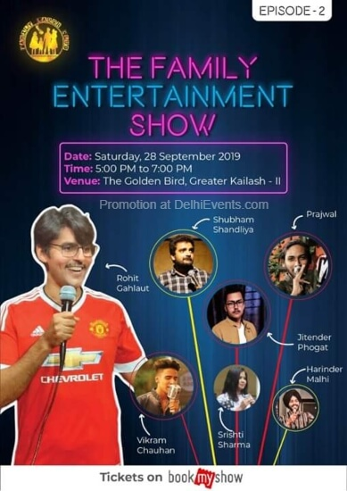 Family Entertainment Show EpisodeII Golden Bird Greater Kailash Creative