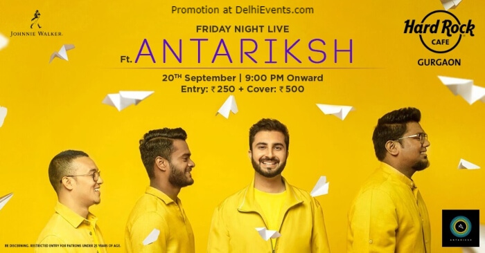 Friday Night Antariksh Hard Rock Cafe Gurugram Creative