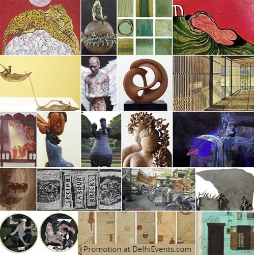 Janus Art Gallery Kala Bhavana Legacy Ingenuity Exhibition Artworks