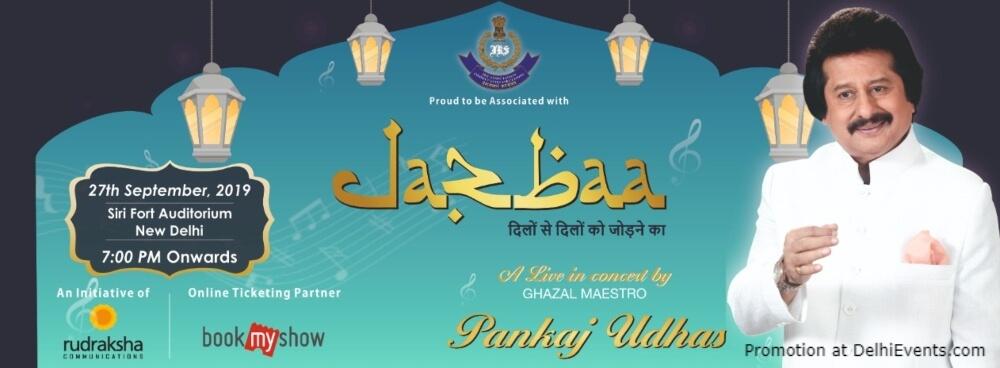 Jazbaa Ghazal Maestro Pankaj Udhas Sirifort Auditorium August Kranti Marg Creative