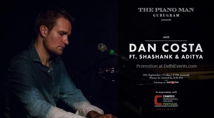 Jazz Dan Costa Shashank Aditya  Piano Man Gurugram Creative