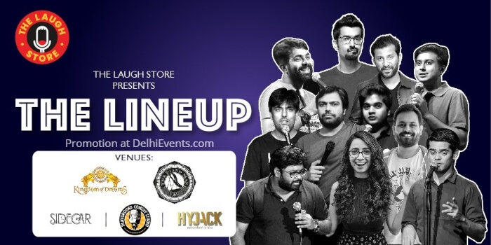 Laugh Store standup Comedy Anirban Sourav Sidecar Greater Kailash Creative