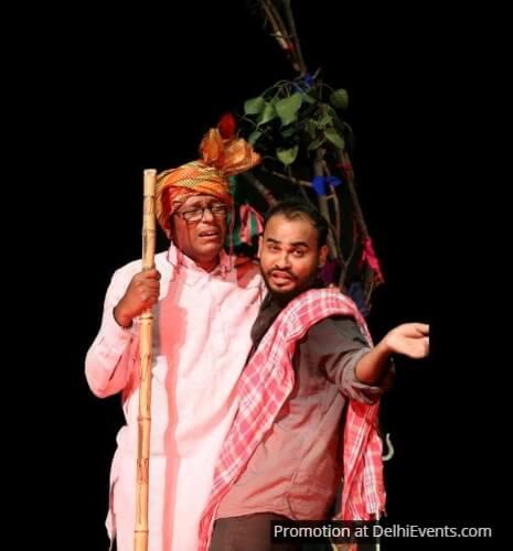 Mai Bhi Maan Ban Gaya Comedy Play Mask Theatre Still