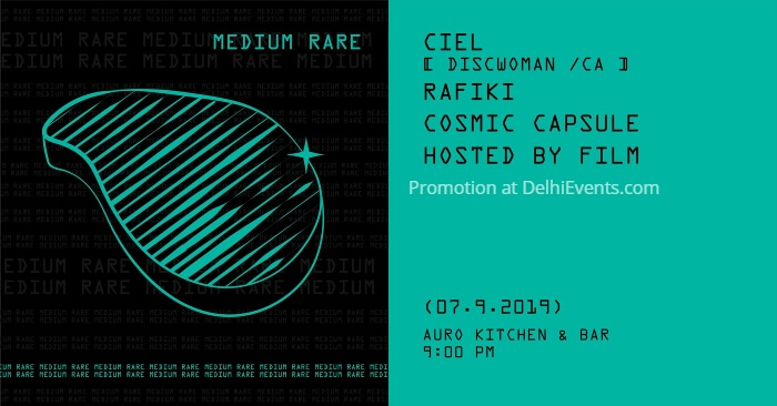 MediumRare Ciel Discwoman CA Auro Kitchen Bar Creative