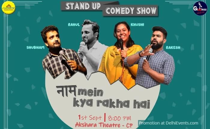 Cineaste naam mein kya rakha hai Standup Akshara Theatre Creative
