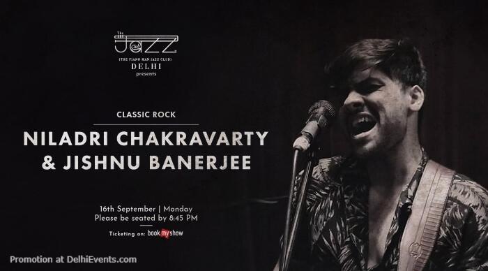 Niladri Chakravarty Jishnu Banerjee Piano Man Jazz Club Safdarjung Enclave Creative