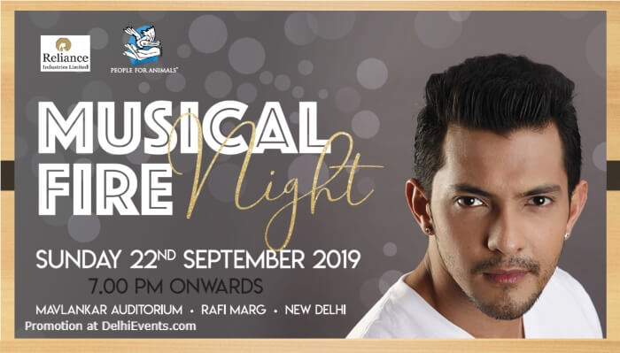 Musical Fire Night Aditya Narayan his band Team  Creative