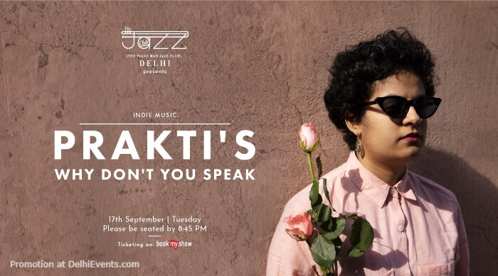 Praktis Why Dont You Speak Piano Man Jazz Club Safdarjung Enclave Creative