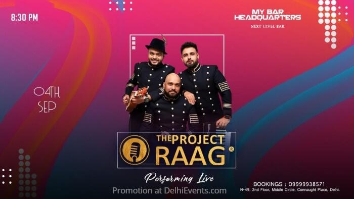 Project Raag My Bar Headquarters Creative