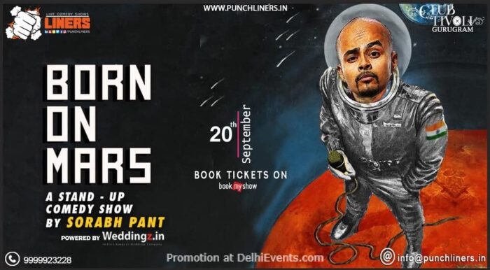 Punchliners Born Mars Standup Comedy Sorabh Pant  Creative