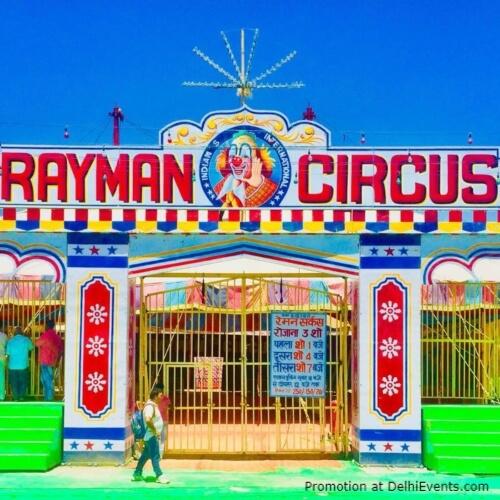 Rayman Circus Entrance