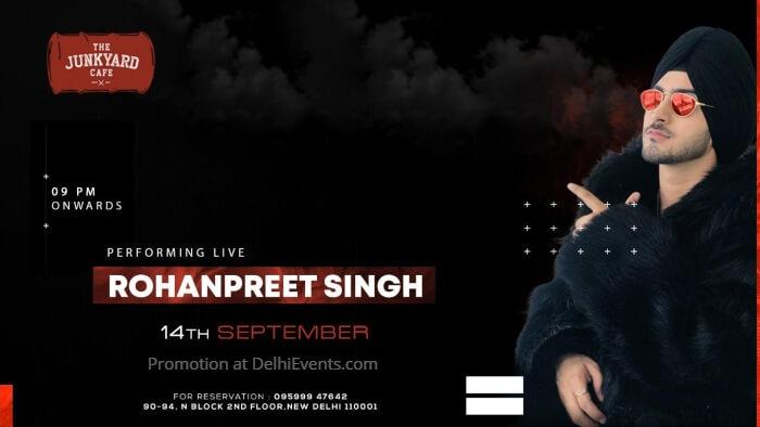 Rohanpreet Singh Performing Live Junkyard Cafe CP Creative