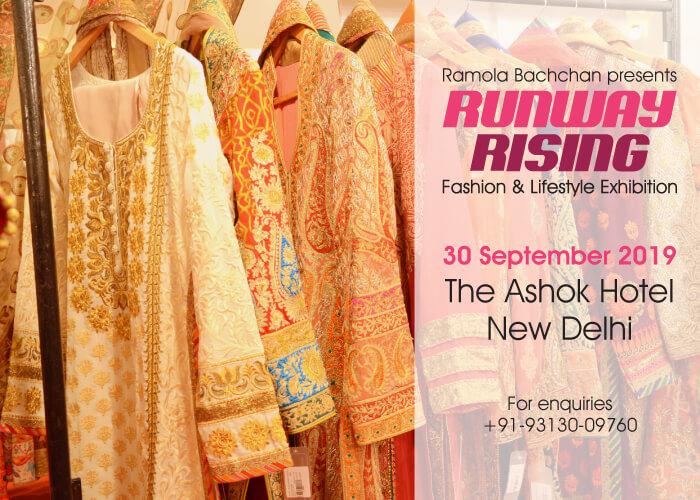 Ramola Bachchan Runway Rising 2019 Ashok Hotel Creative