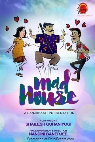 Saanjhbaati Foundation Mad House Comedy Play Creative