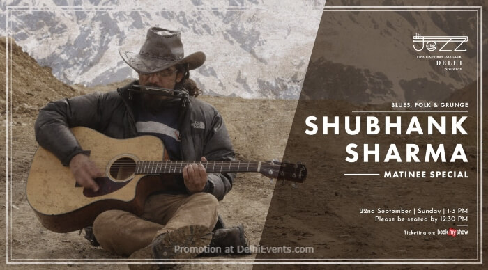 Shubhank Sharma  Matinee Special Piano Man Jazz Club Safdarjung Enclave Creative