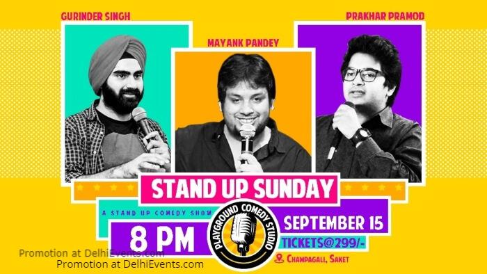 Standup Gurinder Singh Mayank Pandey Prakhar Pramod Playground Comedy Studio Creative