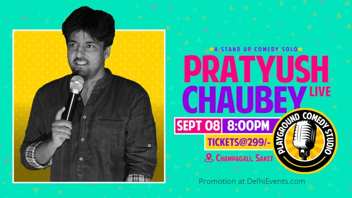 standup Pratyush Chaubey Playground Comedy Studio Creative