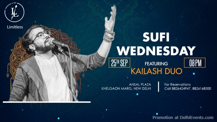 Sufi Wednesday Featuring Kailash Duo  Creative