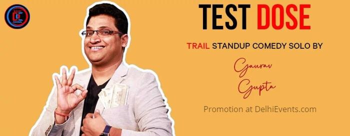 Test Dose Standup Gaurav Gupta Central Club Creative