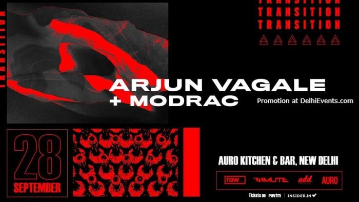 Transition Arjun Vagale Modrac Auro Kitchen Bar Hauz Khas Creative