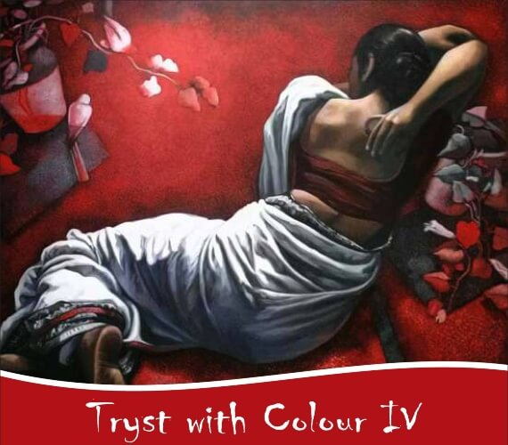 Tryst Colour IV Group Exhibition India Habitat Centre Lodhi Road Creative