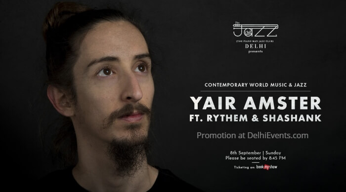 Yair Amster Rythem Shashank Piano Man Jazz Club Creative