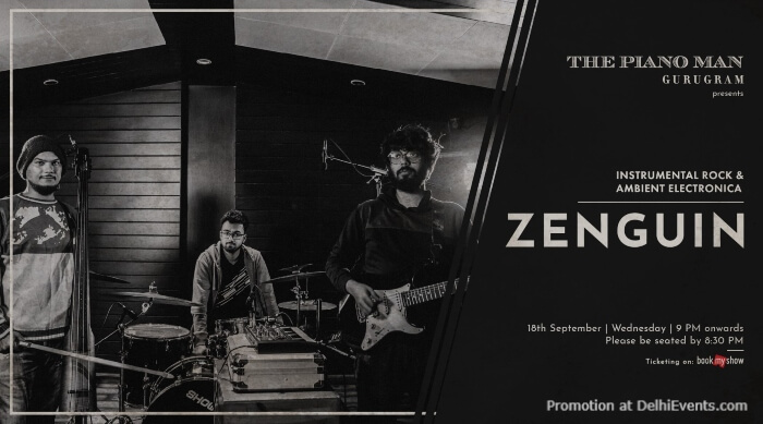 Zenguin Band Piano Man Gurugram Creative