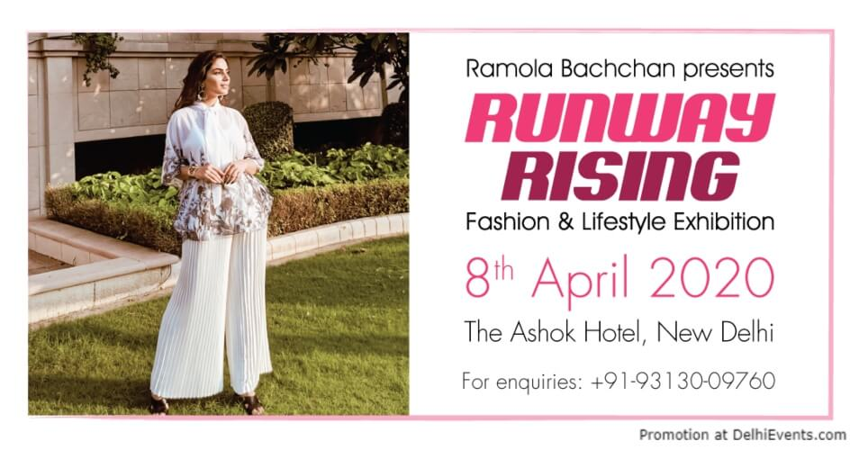 Ramola Bachchan Runway Rising Ashok Hotel Chanakyapuri Creative