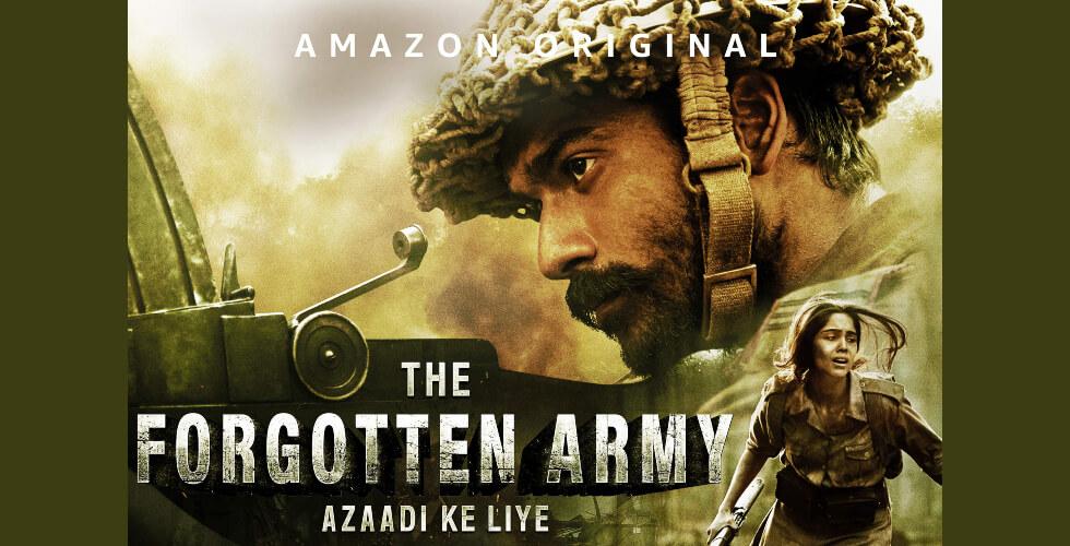 Forgotten Army Azaadi Ke Liye Sunny Kaushal Sharvari Amazon Prime Creative