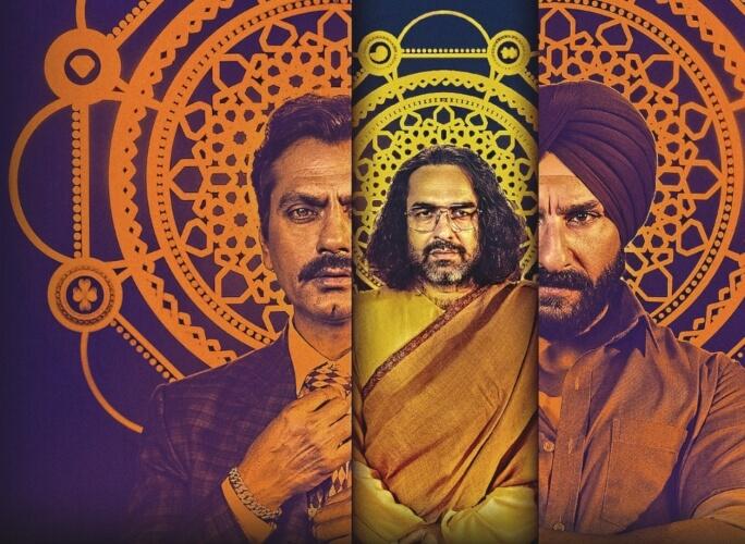 Sacred Games Web Series Saif Ali Khan Nawazuddin Siddiqui Pankaj Tripathi Creative