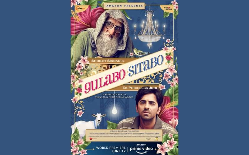 Gulabo Sitabo Amitabh Bachchan Ayushmann Khurrana Film Poster