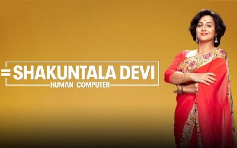 Shakuntala Devi Film Vidya Balan Creative