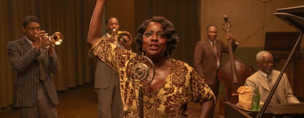 Ma Raineys Black Bottom Viola Davis Chadwick Boseman Glynn Turman Netflix Still